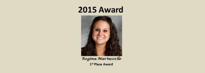 2015 Luttge Outstanding Grad Research Award