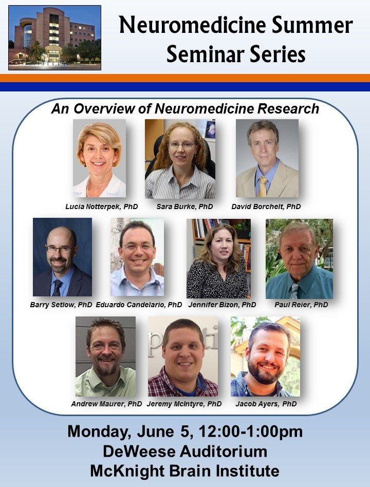 2017 Neuromedicine Summer Seminar Series