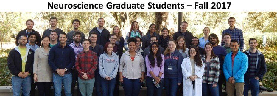 Neuroscience Graduate Students - Fall 2017