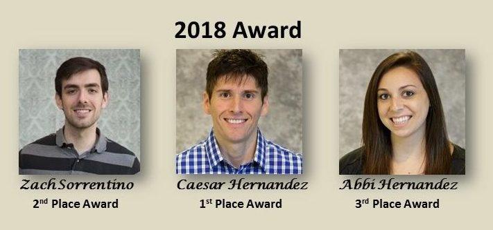2018 Luttge Outstanding Grad Research Award